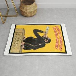 1925 Anisetta Evangelista Italian Advertising Poster Rug