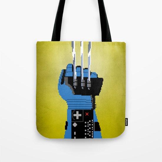 Power Glove Love: Wolverine Tote Bag