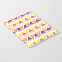 Neon Mountains Notebook
