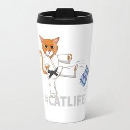 #Catlife Travel Mug