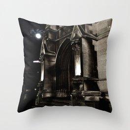 Church Facade Throw Pillow