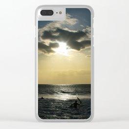 E ala mai o loko i ke kuhohonu o ke Aloha Kamaole Beach Clear iPhone Case