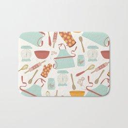 Vintage Kitchen Bath Mat