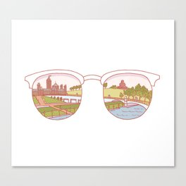 Canadian Sunnies | Ottawa Canvas Print