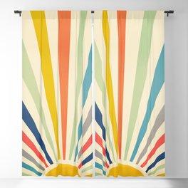 Sun Retro Art III Blackout Curtain