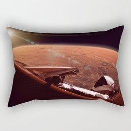 Star man at mars Rectangular Pillow