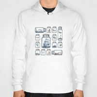 train Hoodies featuring Vintage Preservation by Paula Belle Flores
