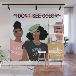See Color Wall Mural