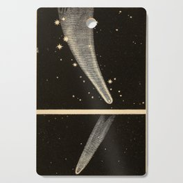 Kendall - Uranography; or a Description of the Heavens (1850) - The Great Comet of 1819 Cutting Board