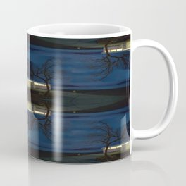 Reluctance At The Edge Of the Salt Flats Coffee Mug