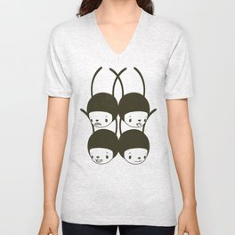 I WANT TO HOLD YOUR HAND Unisex V-Neck