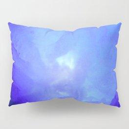 Textures (Blue version) Pillow Sham