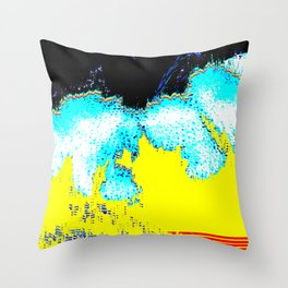SILK-B|0 Throw Pillow