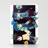 dmmd Stationery Cards featuring DMMD-seragakis by Mimiblargh