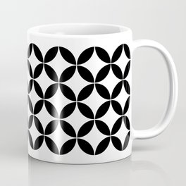 Geometric Pattern #65 (circles) Coffee Mug