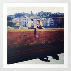 In Rome & In Love Art Print