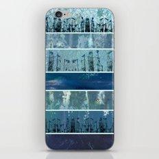 Abstract Sea City iPhone & iPod Skin