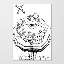 Idought Vol. 01 - 01 Canvas Print