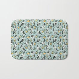 Pigeons, Apricots, and Thyme Bath Mat