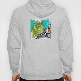 facing your fear (square) Hoody