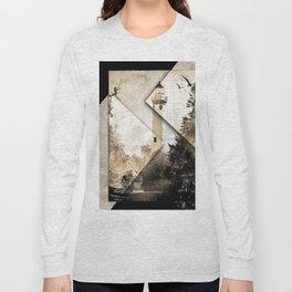 New Presque Isle Lighthouse art Long Sleeve T-shirt