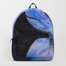 Full Moon Reflections Backpack