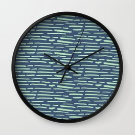 Thin Lines 02 Wall Clock