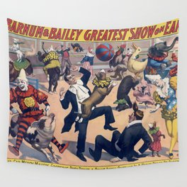 Barnum and Bailey Wall Tapestry