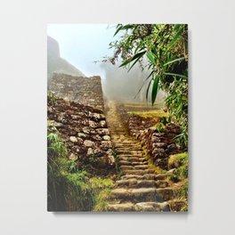 Inca Trail Metal Print