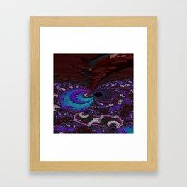 Hoarse Hallow Fractal - Abstract Art Framed Art Print