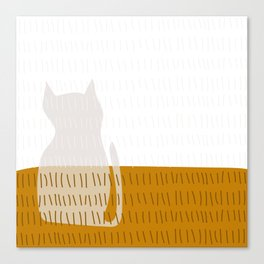 Coit Cat Pattern 3 Canvas Print