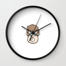 "Be Proud and stay proud that your a nerd with this ""Trust Me I'm A Nerd"" tee design. Go Get it now!  Wall Clock"