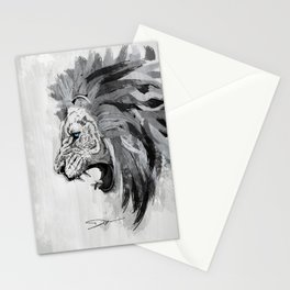 Lion - The king of the jungle Stationery Cards