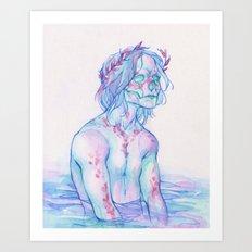 Dead Silence Art Print