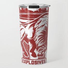 Buffalo Explosives Travel Mug