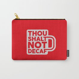 Sinful Coffee Carry-All Pouch