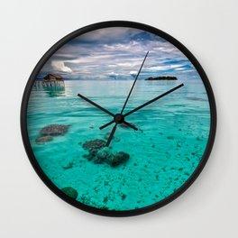 John long island Wall Clock