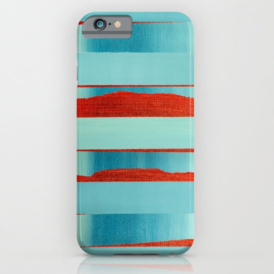 Blue Edge iPhone & iPod Case