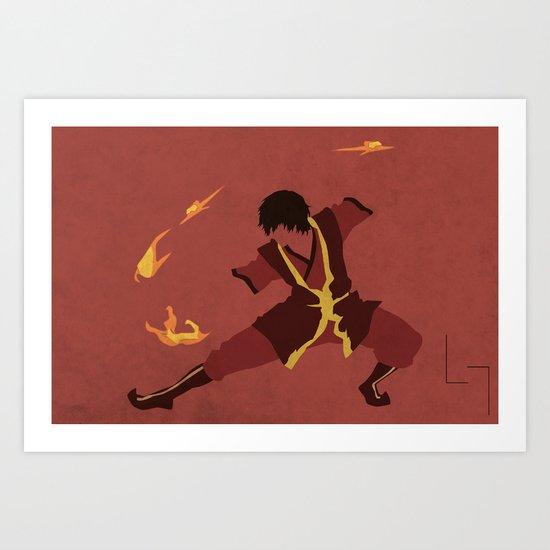 Zuko Art Print