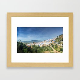 The town of Chefchaouen, Morocco Framed Art Print