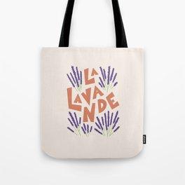 La Lavande French Lavender Tote Bag