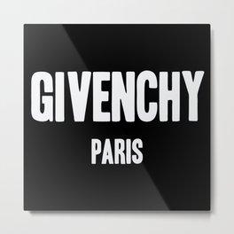 Givenchy Paris Metal Print