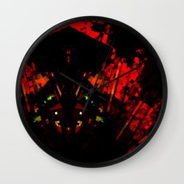 the chinese in the night Wall Clock