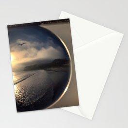 Capturing Avila Beach refraction photography crystal ball Stationery Cards
