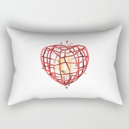Take Care of My Heart, Valentine Rectangular Pillow
