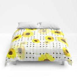 Sunny Tiles Comforters