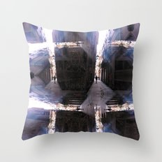 / alternately assimilate the variegated variables? Throw Pillow