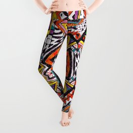 Tribal Abstract Leggings