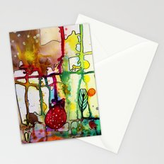 the mama (bright) Stationery Cards