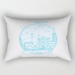 Je t'aime Montréal Rectangular Pillow